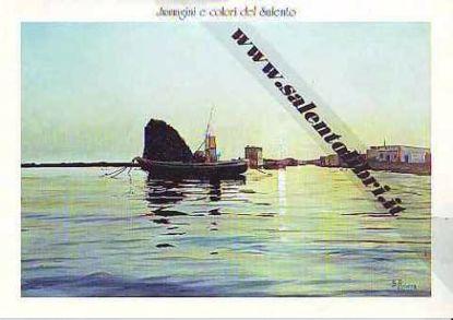 Immagine di CARTOLINA 12 X 17 QUADRO - TRAMONTO A TORRE PALI