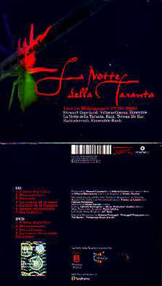 Immagine di La Notte della Taranta (Live in Melpignano 17/08/2003) CD