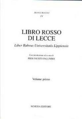 Immagine di Libro rosso di Lecce (2 vol.) Liber Rubeus Universitatis Lippiensis