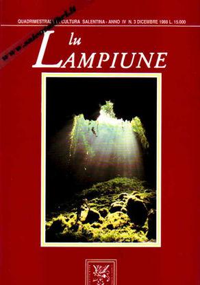 Immagine di Lu Lampiune Quadrimestrale di Cultura Salentina Anno 4 n°3 Dicembre 1988