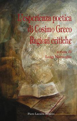 Immagine di L'esperienza poetica di Cosimo Greco. Ragioni critiche