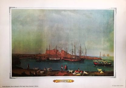 Immagine di MONOPOLI - STAMPA - FILIPPO HACKERT - PORTO DI MONOPOLI 1790