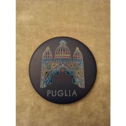 Immagine di PUGLIA  - MAGNETE ROTONDO 002