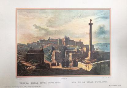 Immagine di VEDUTA DELLA CITTA` D`OTRANTO 1820