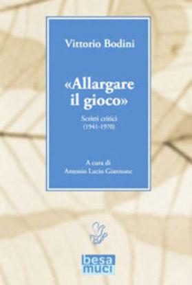 Immagine di ALLARGARE IL GIOCO