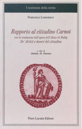 Immagine di RAPPORTO AL CITTADINO CARNOT