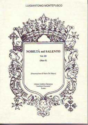 Immagine di NOBILTA` NEL SALENTO VOL.3° (MAR-P)