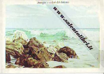 Immagine di CARTOLINA 12 X 17 QUADRO - MARE MOSSO