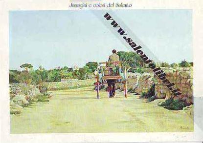 Immagine di CARTOLINA 12 X 17 QUADRO - CARRETTO