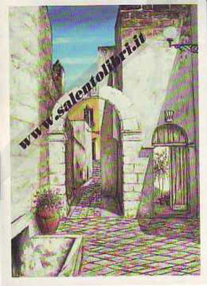 Immagine di Cartolina 11x16 - Quadro di G. Scanderebech - Scorcio di Casarano