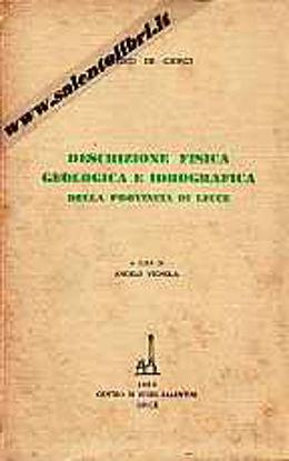 Immagine di Descrizione fisica geologica e idrografica della provincia di Lecce