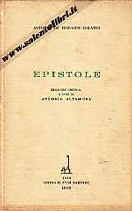 Immagine di Epistole (Antonio De Ferraris Galateo)