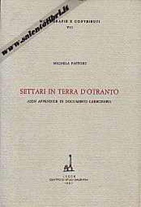 Immagine di Settari in Terra d'Otranto (con appendice di documenti carbonari)