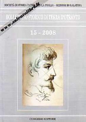 Immagine di Bollettino Storico di Terra d'Otranto 15/2008