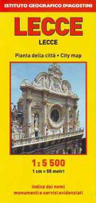 Immagine di LECCE 1:5.500 PIANTA DELLA CITTÀ