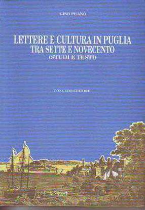 Immagine di Lettere e cultura in Puglia tra Sette e Novecento. Studi e testi