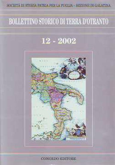Immagine di Bollettino storico di Terra d'Otranto. Numero 12-2002