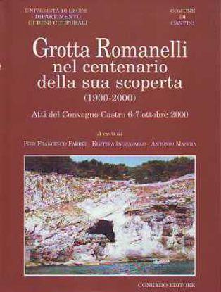 Immagine di Grotta Romanelli nel centenario della sua scoperta-1900-2000