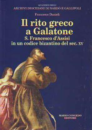 Immagine di Il rito greco a Galatone. S. Francesco d'Assisi in un codice bizantino del sec. XV