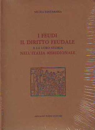 Immagine di I feudi. Il diritto feudale e la loro storia nell'Italia Meridionale