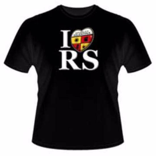 """Immagine di T-Shirt modello """"I Love RS"""" Repubblica Salentina (Unisex)"""