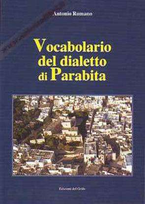 Immagine di Vocabolario del dialetto di Parabita