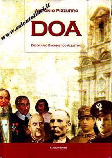 Immagine di DOA Dizionario Onomastico Allistino