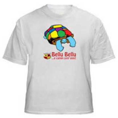 """Immagine di T-Shirt modello """"Bellu Bellu"""" Repubblica Salentina (Unisex)"""