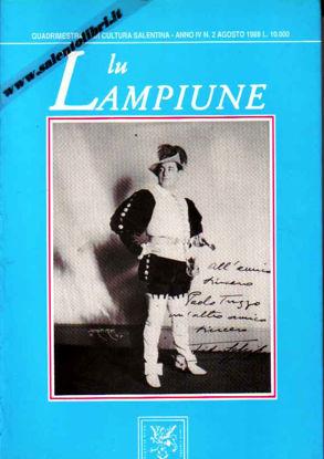 Immagine di Lu Lampiune Quadrimestrale di Cultura Salentina Anno 4 n°2 Agosto 1988