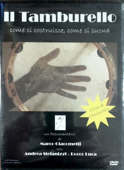 Immagine di Il tamburello. Come si costruisce, come si suona (Dvd)