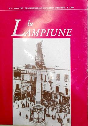 Immagine di Lu Lampiune Quadrimestrale di Cultura Salentina Anno 4 n°2 Agosto 1987