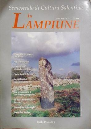 Immagine di Lu Lampiune Quadrimestrale di Cultura Salentina Anno 13 n°1 Aprile 1997