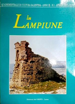 Immagine di Lu Lampiune Quadrimestrale di Cultura Salentina Anno 9 N°1 aprile 1993