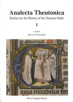 Immagine di Analecta theutonica. Studies for the history of the teutonic order. Vol. 1.