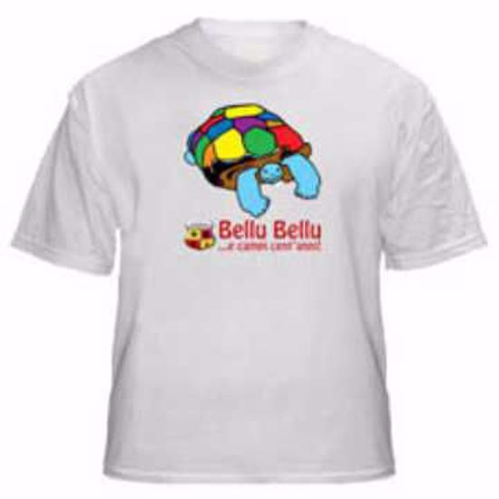 """Immagine di T-Shirt modello """"Bellu Bellu"""" Repubblica Salentina (Donna)"""