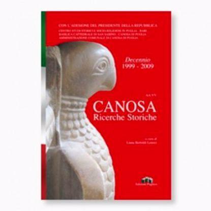Immagine di CANOSA. RICERCHE STORICHE 1999 2009
