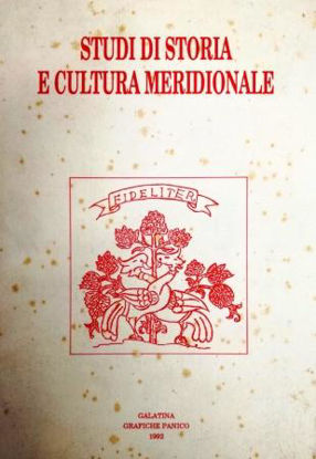 Immagine di STUDI DI STORIA E CULTURA MERIDIONALE