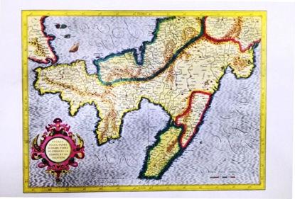 Immagine di PUGLIA PIANA TERRA DI BARI, TERRA DI OTRANTO, CALABRIA ET BASILICATA - STAMPA