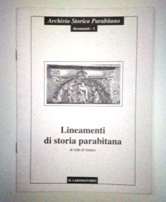 Immagine di LINEAMENTI DI STORIA PARABITANA