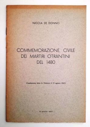 Immagine di COMMEMORAZIONE CIVILE DEI MARTIRI OTRANTINI DEL 1480