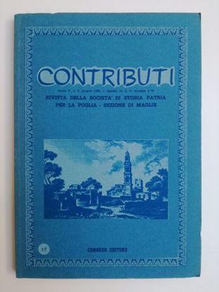Immagine di CONTRIBUTI N°17/1986 - RIVISTA TRIMESTRALE