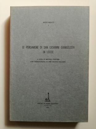 Immagine di LE PERGAMENE DI SAN GIOVANNI EVANGELISTA IN LECCE