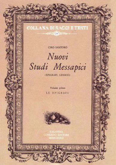 Immagine di Nuovi Studi Messapici (3 volumi) a cura di Ciro Santoro
