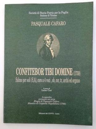 Immagine di CONFITEBOR TIBI DOMINE (1759) SPARTITI MUSICALI