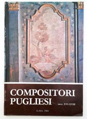 Immagine di COMPOSITORI PUGLIESI (SECOLI VXI - XVIII) A CURA DEL GRUPPO MADRIGALISTICO SALENTINO