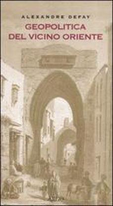 Immagine di GEOPOLITICA DEL VICINO ORIENTE
