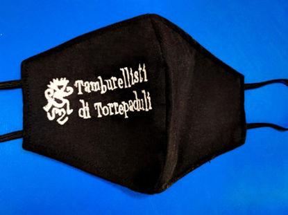 """Immagine di MASCHERINA DEI """"TAMBURELLISTI DI TORREPADULI"""""""