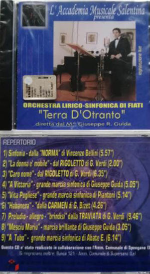 Immagine di ORCHESTRA LIRICO-SINFONICA DI FIATI. \\TERRA D`OTRANTO\\ MAESTRO GIUSEPPE R. GUIDA (CD-AUDIO)